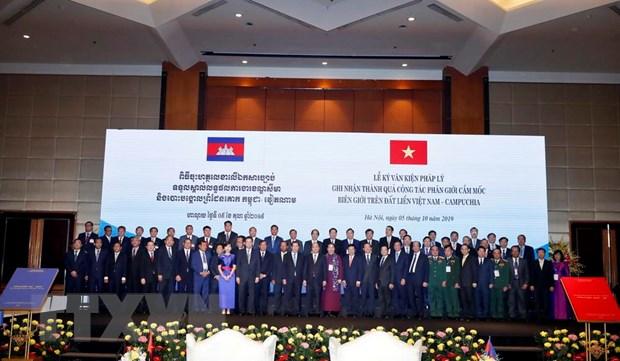 Thu tuong Campuchia Hun Sen ket thuc chuyen tham chinh thuc Viet Nam hinh anh 1