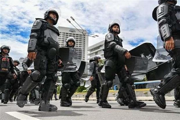 Indonesia pha tan am muu danh bom hang loat tai thu do Jakarta hinh anh 1