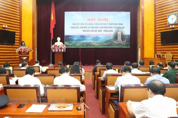 Lang Son: Tong ket 10 nam hoan thanh cong tac phan gioi Viet-Trung hinh anh 1