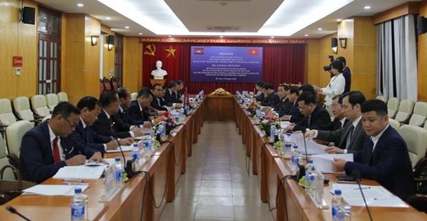 Viet Nam va Campuchia trao doi kinh nghiem trong linh vuc thanh tra hinh anh 1