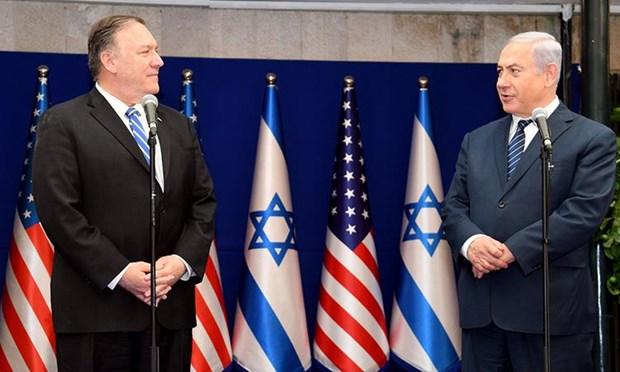 Thu tuong Israel va Ngoai truong My thao luan ve tinh hinh Syria, Iran hinh anh 1