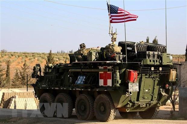 Bo Quoc phong My giu nguyen ke hoach rut quan khoi Syria hinh anh 1