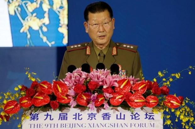 Trieu Tien: My va Han Quoc can co giai phap moi cho be tac hien nay hinh anh 1