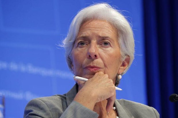 Cuu lanh dao IMF Christine Lagarde tiep quan 'ghe nong' tai ECB hinh anh 1