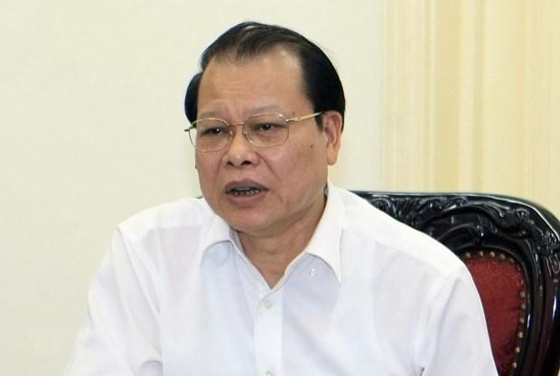 Nguyen Pho Thu tuong Vu Van Ninh bi ky luat bang hinh thuc canh cao hinh anh 1