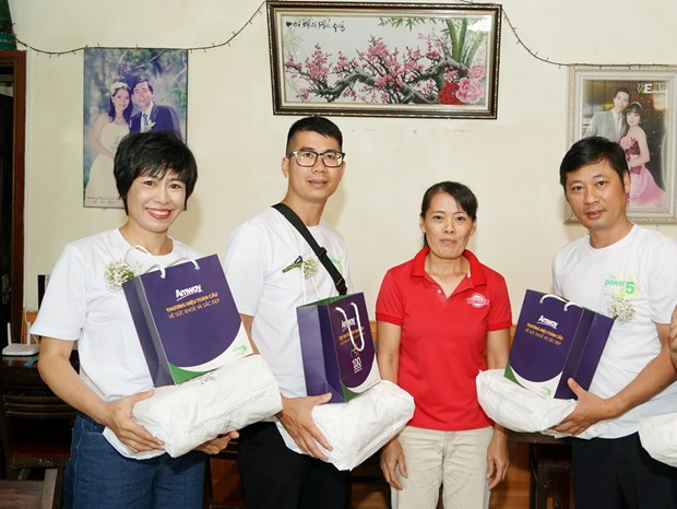 Amway kien dinh muc tieu dong hanh vi tre em suy dinh duong Viet Nam hinh anh 2