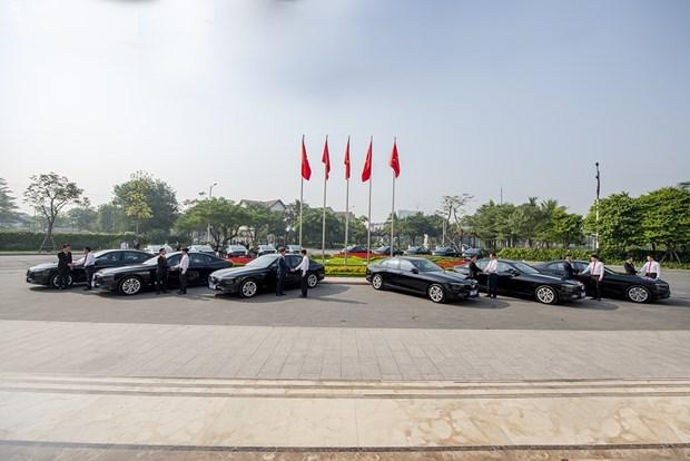 Ban giao xe oto phuc vu cac hoi nghi trong Nam ASEAN 2020 hinh anh 2