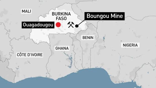 Burkina Faso: Cac tay sung tan cong cong ty Canada, 37 nguoi chet hinh anh 1