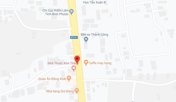 Binh Phuoc: Xe container dam xe may, mot thanh nien tu vong tai cho hinh anh 1