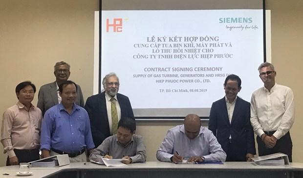 Siemens ho tro nang cap nha may nhiet dien tai Thanh pho Ho Chi Minh hinh anh 1