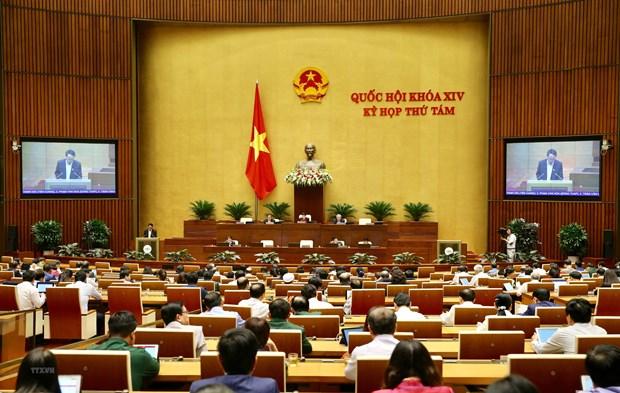 Bieu quyet Nghi quyet ve phan bo ngan sach Trung uong nam 2020 hinh anh 1