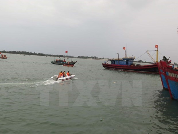 Thanh Hoa: Chim tau ca, 7 ngu dan duoc cuu nan thanh cong hinh anh 1