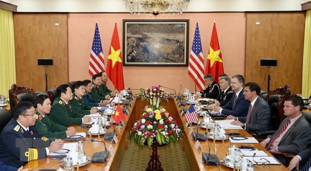 Bo truong Bo Quoc phong Hoa Ky Mark Esper tham chinh thuc Viet Nam hinh anh 2