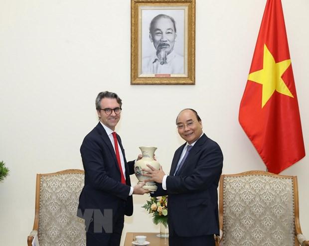 Thu tuong Chinh phu tiep Dai su, Truong phai doan EU tai Viet Nam hinh anh 1