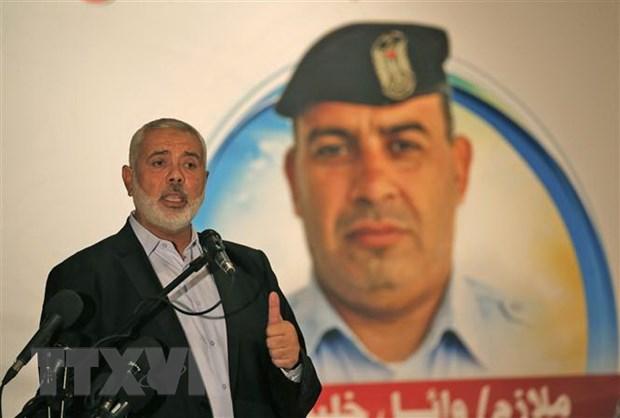 Lanh dao phong trao Hamas keu goi doi thoai dan toc Palestine hinh anh 1