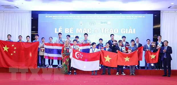 Doan hoc sinh Viet Nam gianh 15 huy chuong vang tai IMSO 2019 hinh anh 1