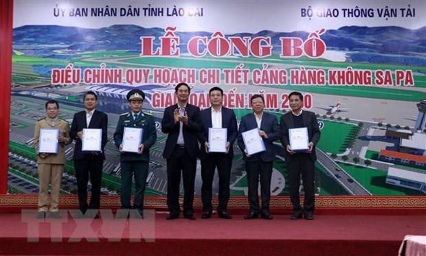 Lao Cai: Dieu chinh quy hoach chi tiet Cang hang khong Sa Pa hinh anh 2