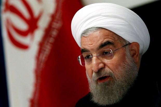 Tong thong Rouhani: Iran se dam phan neu My tu bo bien phap trung phat hinh anh 1