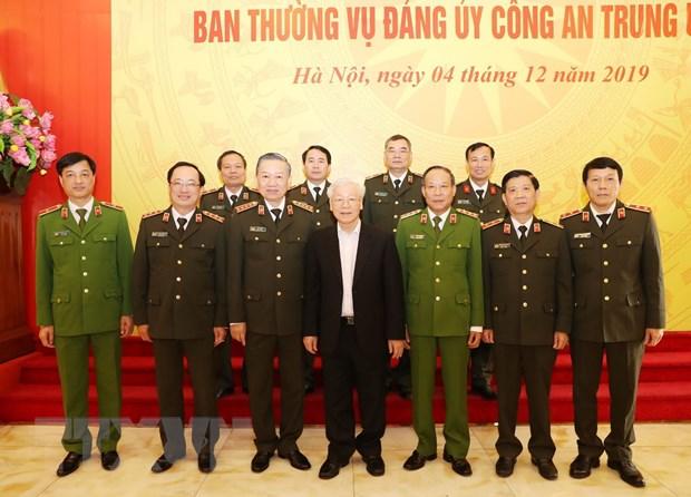 Tong Bi thu, Chu tich nuoc chi ra 10 ket qua lon cua cong an nhan dan hinh anh 2