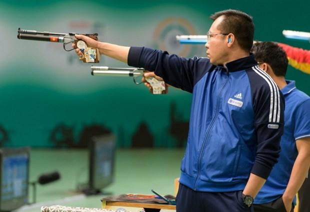 SEA Games 30: Xa thu Hoang Xuan Vinh ban truot muc tieu Vang hinh anh 1
