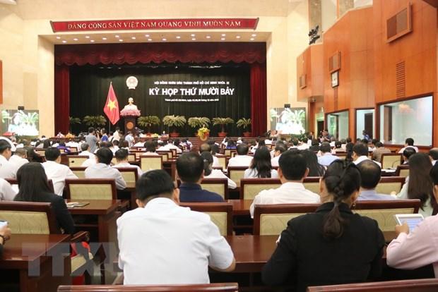Khai mac Ky hop thu 17, Hoi dong Nhan dan Thanh pho Ho Chi Minh hinh anh 1