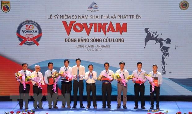 50 nam khai pha va phat trien Vovinam o Dong bang song Cuu Long hinh anh 1