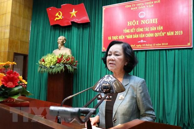 Di doi dan khoi kinh thanh Hue: Cong tac van dong phai thuc tam hinh anh 1
