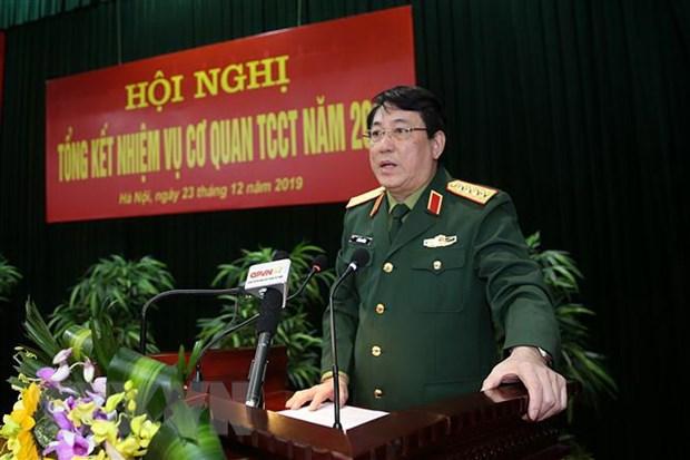 Co quan Tong cuc Chinh tri bam sat nhiem vu quan su, quoc phong hinh anh 1