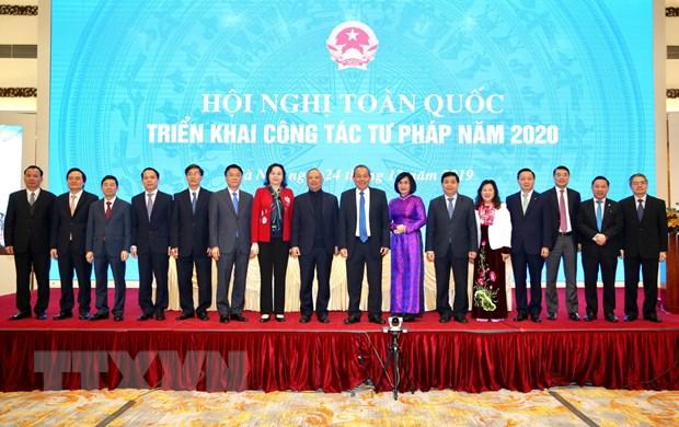 Pho Thu tuong: Can bo tu phap can lam tot vai tro 'gac gon' hinh anh 1