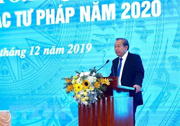 Pho Thu tuong: Can bo tu phap can lam tot vai tro 'gac gon' hinh anh 2