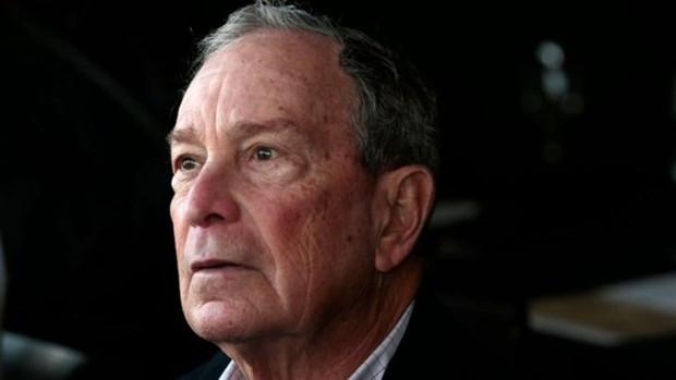 Ty phu Michael Bloomberg bi phat hien thue tu nhan van dong tranh cu hinh anh 1