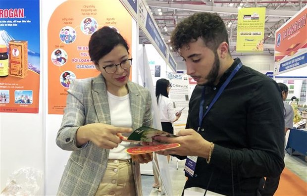 Indonesia gianh duoc cac hop dong tri gia 16 ty dong tu Vietnam Expo hinh anh 1