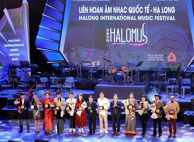 Festival am nhac quoc te Ha Long 2020: Lan toa va hoi nhap hinh anh 1