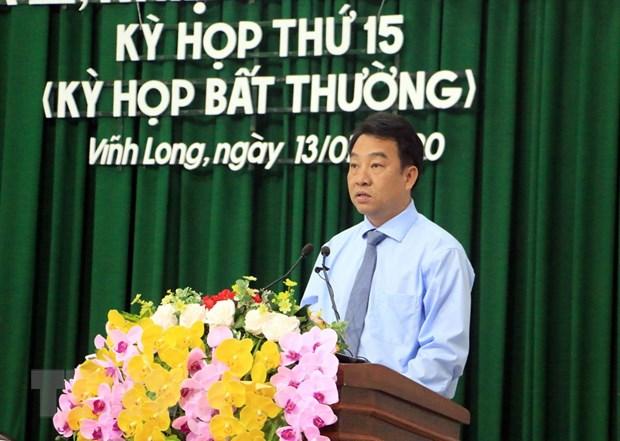 Ong Lu Quang Ngoi duoc bau lam Chu tich UBND tinh Vinh Long hinh anh 1