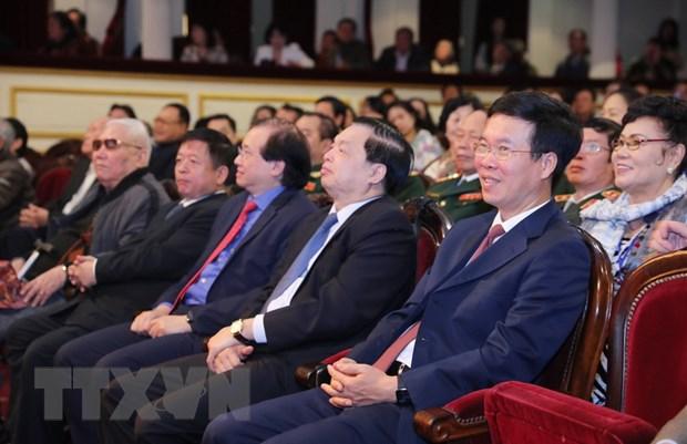 Ong Vo Van Thuong: Quan tam, boi duong tai nang san khau tre hinh anh 2