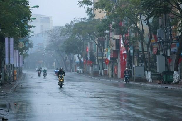 Tuan le sau dot nghi Tet Nguyen dan: Ha Noi troi ret, co mua phun hinh anh 1