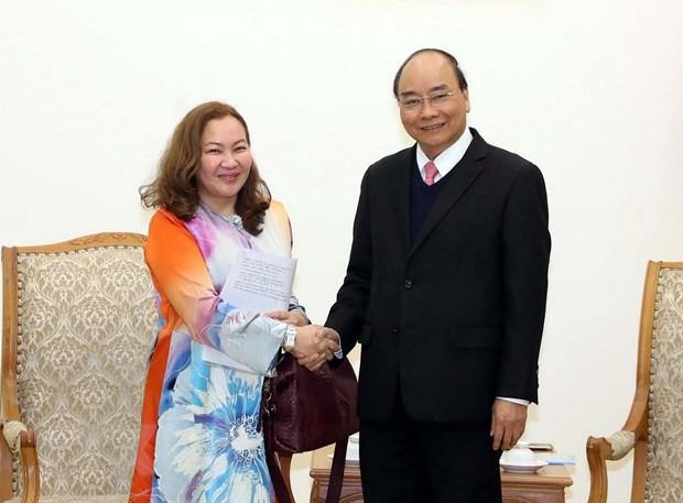 Thu tuong Nguyen Xuan Phuc tiep Dai su Malaysia va Dai su Armenia hinh anh 1