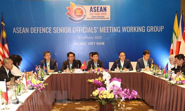 Hoi nghi Nhom lam viec Quan chuc Quoc phong cap cao ASEAN hinh anh 1