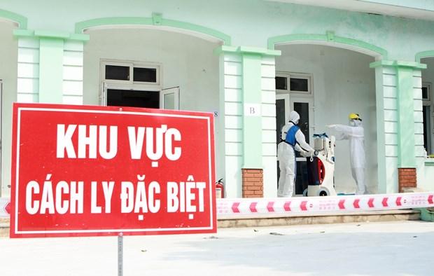 [Photo] Nhung chien sy noi tuyen dau chong dich COVID-19 o Binh Xuyen hinh anh 12