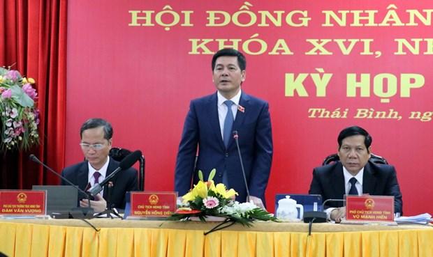 Ky hop bat thuong HDND tinh Thai Binh thong qua nhieu nghi quyet hinh anh 1