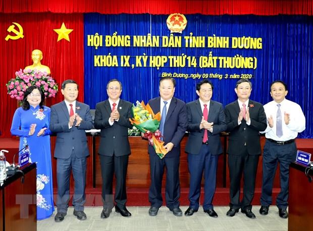 Bau bo sung Pho Chu tich Hoi dong Nhan dan tinh Binh Duong hinh anh 1