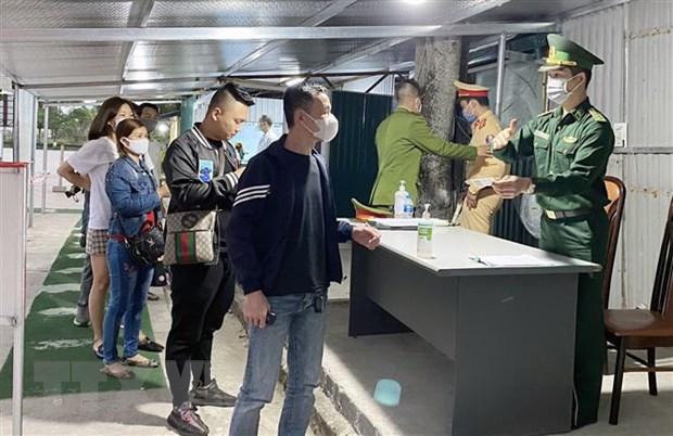 Quang Ninh cach ly 638 nguoi lien quan den cac ca nhiem SARS-CoV-2 hinh anh 1