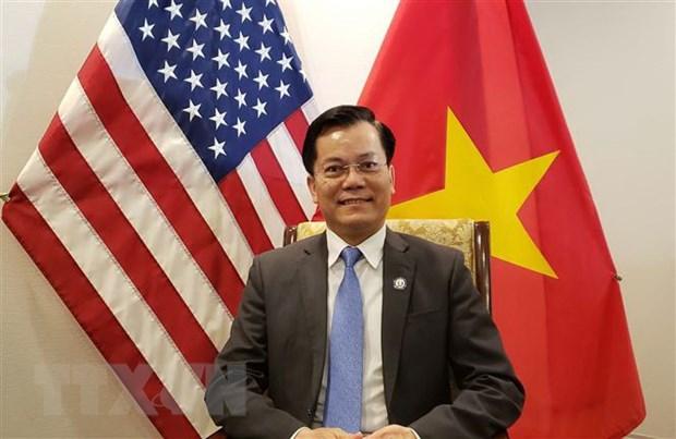 Thong tin 'Hoa Ky ngung nhap hang det may Viet Nam' la khong chinh xac hinh anh 1