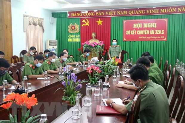 Cong an Binh Thuan thong tin ve vu trong an xay ra tai chua Quang An hinh anh 1