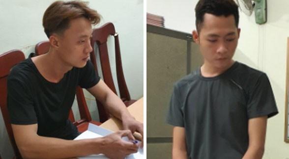 Quang Nam: Bat giu hai doi tuong cuop ngan hang o Nui Thanh hinh anh 1