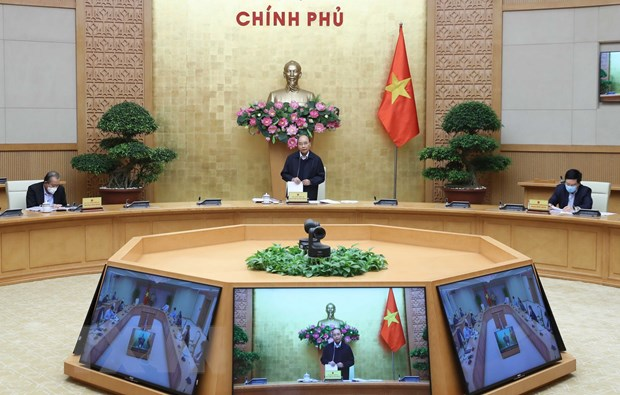 Thu tuong: Khong de nguoi dan nao doi com, lat muoi vi COVID-19 hinh anh 1
