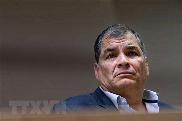Cuu Tong thong Ecuador Rafael Correa bi ket an tu vi toi tham nhung hinh anh 1