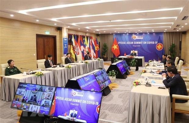 Khai mac Hoi nghi Cap cao dac biet ASEAN ve ung pho voi dich COVID-19 hinh anh 1