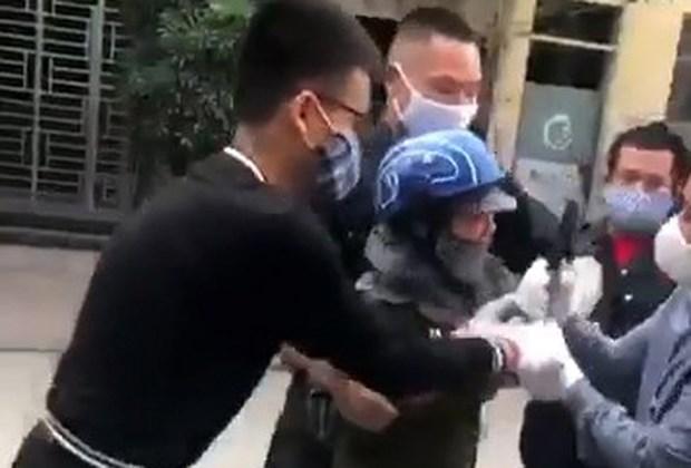 Quang Ninh: Xu ly sai pham trong vu khong che nguoi ban rau hinh anh 1