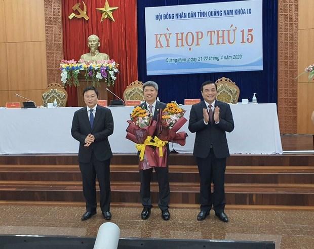 Ong Ho Quang Buu duoc bau lam Pho Chu tich UBND tinh Quang Nam hinh anh 1